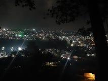 ville des lumières Itanagar Arunachal Pradesh photographie stock