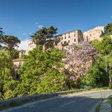 Ville di Paraso in the Balagne region of Corsica Stock Photography