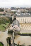 ville du Люксембурга Стоковые Изображения