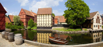 Ville du Danemark, Aarhus Photographie stock