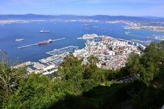 Ville du Gibraltar Image libre de droits