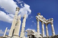 Ville du grec ancien de Pergamon dans Bergama, Turquie Photos libres de droits