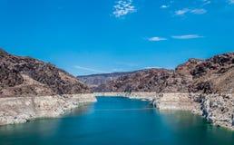 Ville du Lake Mead, Boulder, Nevada Photos stock