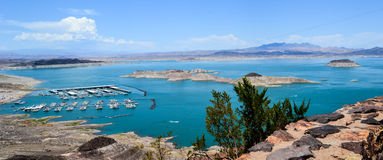 Ville du Lake Mead - de Boulder photographie stock libre de droits