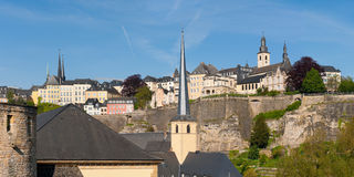 Ville du Luxembourg photo stock