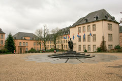 Ville du Luxembourg Royalty Free Stock Photos
