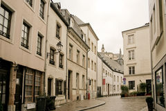 Ville du Luxembourg Royalty Free Stock Photo
