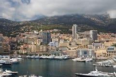 Ville du Monaco Photo libre de droits