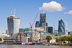 Ville du nouvel horizon 2013 de Londres Photographie stock