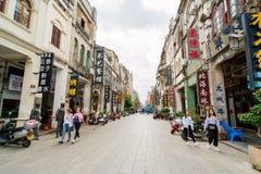Ville du ` s Beihai de la Chine vieille Photo libre de droits