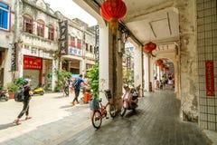 Ville du ` s Beihai de la Chine vieille Images libres de droits