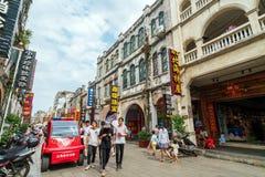 Ville du ` s Beihai de la Chine vieille Image libre de droits