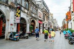 Ville du ` s Beihai de la Chine vieille Images stock