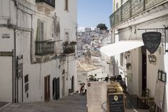 Ville du sud en Italie Images stock