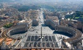 Ville du Vatican Images stock