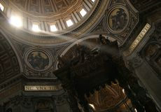 Ville du Vatican Photos stock