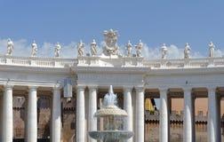 Ville du Vatican, Rome Photographie stock libre de droits