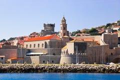 Ville Dubrovnik en Croatie photo stock