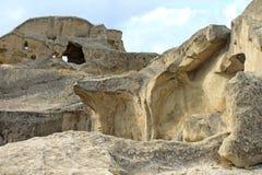 Ville en pierre - Upliscikhe Images libres de droits