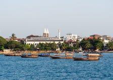 Ville en pierre, Zanzibar Photo stock