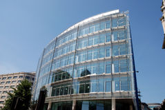Ville en verre moderne de bloc de tour de Londres Image libre de droits