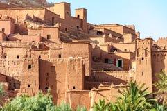 Ville enrichie d'Ait Ben Haddou (Maroc) Photos stock