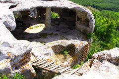 Ville Eski-Kermen de forteresse Image stock