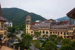 Ville est de vallée de thé de Shenzhen Meisha d'OCT. d'Interlaken Image libre de droits