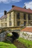 Ville et fleuve de Helmsley Photos libres de droits