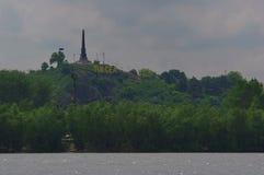 Ville et le Danube 9 de Tulcea images libres de droits