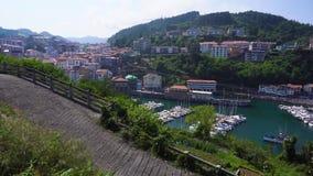 Ville et port d'Ondarroa clips vidéos