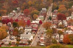 Ville Etats-Unis de fleuve Image stock