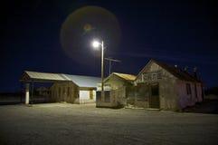 Ville fantôme d'Orla le Texas photos libres de droits