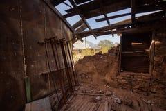 Ville fantôme de l'Arizona la mine de vautour, Wickenberg AZ image stock