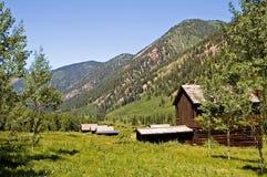 Ville fantôme du Colorado image libre de droits