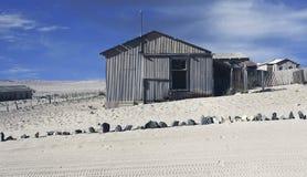 Ville fantôme - Kolmanskop - la plupart de ville fantôme populaire en Namibie photos stock