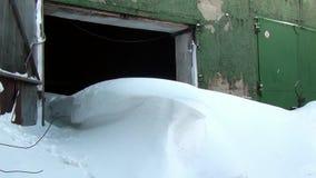 Ville fantôme souterraine de base militaire d'ancien Soviétique de Gudym Anadyr-1 clips vidéos