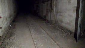 Ville fantôme souterraine de base militaire d'ancien Soviétique de Gudym Anadyr-1 banque de vidéos