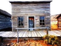 Ville fantôme, Cody, Wyoming, Etats-Unis Photo stock