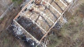 Ville fantôme d'†de Pripyat «près de Chernobyl banque de vidéos