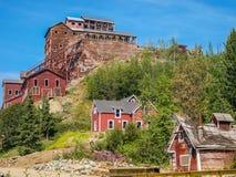 Ville fantôme de la mine e, Kennicott, Alaska Images stock