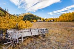 Ville fantôme du Colorado Photo stock