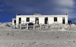 Ville fant?me - Kolmanskop - la plupart de ville fant?me populaire en Namibie photo libre de droits