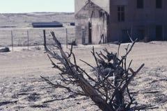 Ville fant?me - Kolmanskop - la plupart de ville fant?me populaire en Namibie image stock