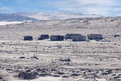 Ville fant?me - Kolmanskop - la plupart de ville fant?me populaire en Namibie photos libres de droits