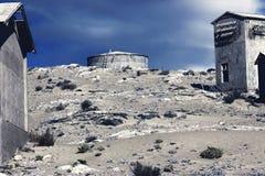 Ville fant?me - Kolmanskop - la plupart de ville fant?me populaire en Namibie images stock