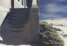 Ville fant?me - Kolmanskop - la plupart de ville fant?me populaire en Namibie photo stock