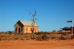 Ville fantôme Silverton, Nouvelle-Galles du Sud, Australie Photos stock