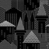 Ville Fond architectural abstrait Photo stock