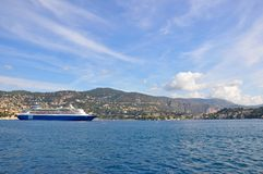 Ville Franche, France Stock Photography
